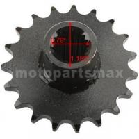 Buy cheap Promax 19 Tooth 428 Chain Front Engine Sprocket for GY6 150cc ATVs, Go Karts from wholesalers