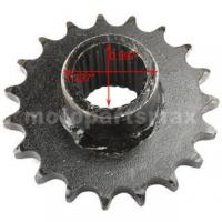 Buy cheap 428 Chain 19 Tooth Front Engine Sprocket for GY6 150cc ATVs, Go Karts from wholesalers
