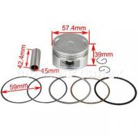Buy cheap Piston Pin Ring Set Assembly for GY6 150cc ATVs, Scooters, Go Karts from wholesalers