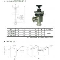 Buy cheap GD-JB-QBX type high vacuum flap angle valve with manual opening and closing signal from wholesalers