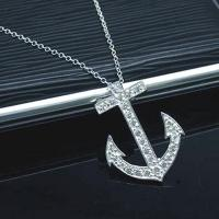 Buy cheap 925 sterling silver necklace TN581 from wholesalers