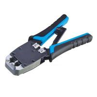 China TL-500R 4P4C 6P6C 8P8C Crimper RJ11 RJ12 RJ45 Cat 5 Ethernet LAN Cable Dual Modular Crimping Tool on sale