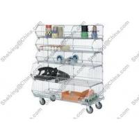 Chrome 5-tiers Basket Shelving System 6241552216 for sale
