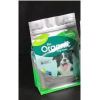 500g Organic Dog food Flat Bottom Bag with zip-lock Manufactures
