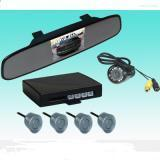 China RVM-3503 REARVIEW MIRROR WITH 3.5 inch TFT AND CAMERA With 4 parking sensors on sale