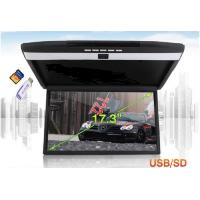 VCAN1329 17.3inch high-definition screen car flip down Roof mount lcd monitor with MP5 HDMI USB SD Manufactures