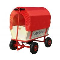 Buy cheap wooden wagon with Canopy - ALWIN OUT from wholesalers