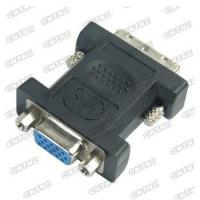 DVI male to VGA female Gold plated connectors Manufactures