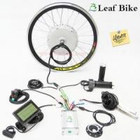 China Updated version 2S - 20 inch 48V 500W front hub motor - electric bike kit on sale