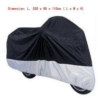 China L Breathable Outdoor Motorcycle Cover For Large Size Cruisers Bike Rain Cover on sale