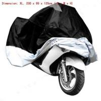 Black Motorcycle Motorbike Waterproof Cover Rain Protection Breathable XL Large Manufactures