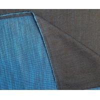 yarn dyed denim fabric backside with color stripe Manufactures