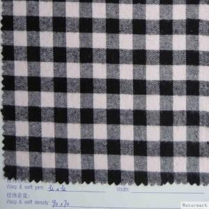 Quality 100% cotton yarn dyed flannel for sale
