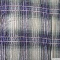 Quality t/c yarn dyed crumble fabric for sale