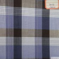 Quality cotton poplin check fabric for sale