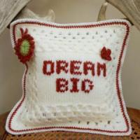 China Decor Crochet Cushion Cover Gift on sale