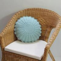 China Round Vintage-style Crochet kintting Round Cushion Pillow on sale