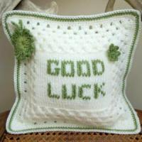 Quality Crochet Cushion Cover Throw Pillow for sale