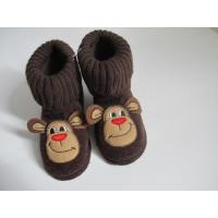 Knit Fabric Boots Contact Now Lovely Big Mouth Monkey Heads Boots For Girls Manufactures