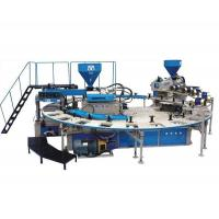 ZG  XZSD2-600 x 24 disc type double color plastic slippers injection moulding machine Manufactures