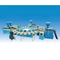 ZG  XZSD4-600 x 24 automatic disc type - four color plastic sole injection moulding machine Manufactures