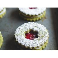 Cranberry & White Chocolate Matcha Shortbread Cookies Manufactures