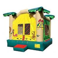 Jungle Bounce House Ships within 24-72 hours via Freight Truck Manufactures