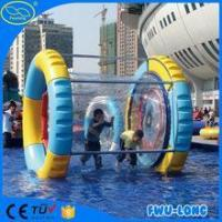China Sunmmer Water games human sized hamster ball For Kids/inflatable fun roller on sale