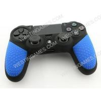 Buy cheap Black Silicone Protective Case With Particle Grip For Ps4 Dualshock 4 Controllers - Blue from wholesalers