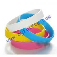 Silicone bracelets with printing logo Manufactures