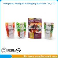 Buy cheap Food Packaging Three Side Seal Standup Pouches Film from wholesalers