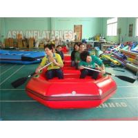 Buy cheap 6 Person Red Inflatable Rafting Boat from wholesalers