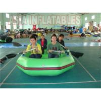Buy cheap 6 Person Green Inflatable Rafting Boat from wholesalers