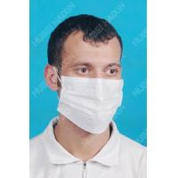 Buy cheap 3-ply Face Mask With Earloop (Short Fibre Nonwoven) F91013 from wholesalers
