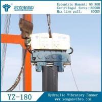 Foundation Machine hydraulic vibratory Piling Driver Hammer YZ-130 Manufactures