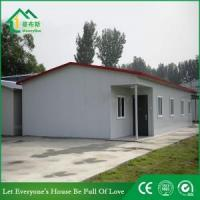 China Modern Prefab Steel House with High Quality Made in China on sale