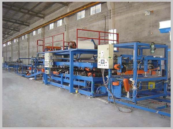 Quality colored eps mineral wool sandwich panel machine manufacturers china for sale