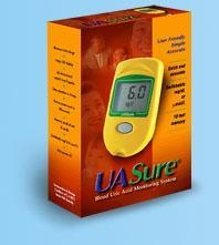 Quality UASure Blood Uric Acid Monitoring System for sale