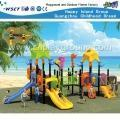 Competitive Price Outdoor Plastic Playground Equipment (HD-2506)