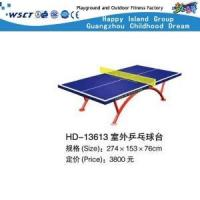 China Outdoor Table Tennis Table Gym Equipment On Promotion(HD-13613) on sale