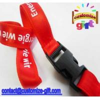 satin-02 two layers lanyard Manufactures