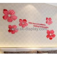 Factory wholesale acrylic wall decorative mirror sun shape wall mirror acrylic sticker MA-041