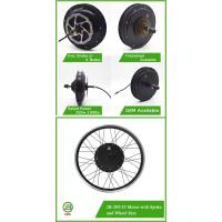 Buy cheap JB-205/35 48v 1000w chinese electric wheel brushless hub motor from wholesalers