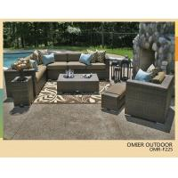 China All weather wicker patio sectional sofa furniture garden furniture sofa OMR-F225 on sale