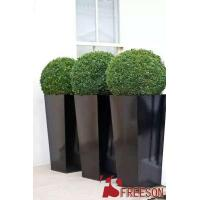 Shiny square planters and pots Manufactures