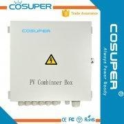 China Cosuper PV string combiner box 12 in 2 out solar combiner box