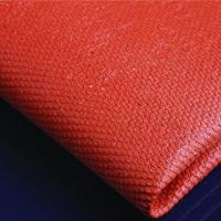 Silicone coated Fiberglass Cloth fabric 0.43mm black Manufactures