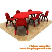 China Guangzhou kids preschool furniture,plastic tables and chairs ,plastic nursery furniture on sale