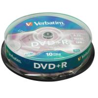 Buy cheap Verbatim DVD+R Spindle Ref 43498 [Pack 10] from wholesalers