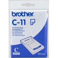 Buy cheap Brother C-11 A7 74x105 mm Thermal Paper 50 Sheets Ref C11 *3 to 5 Day Leadtime* from wholesalers